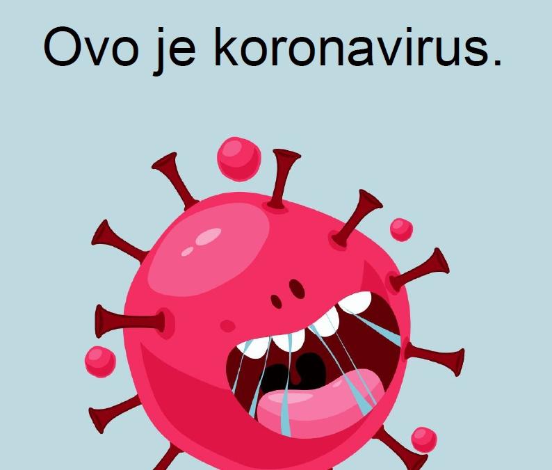 ovo je koronavirus